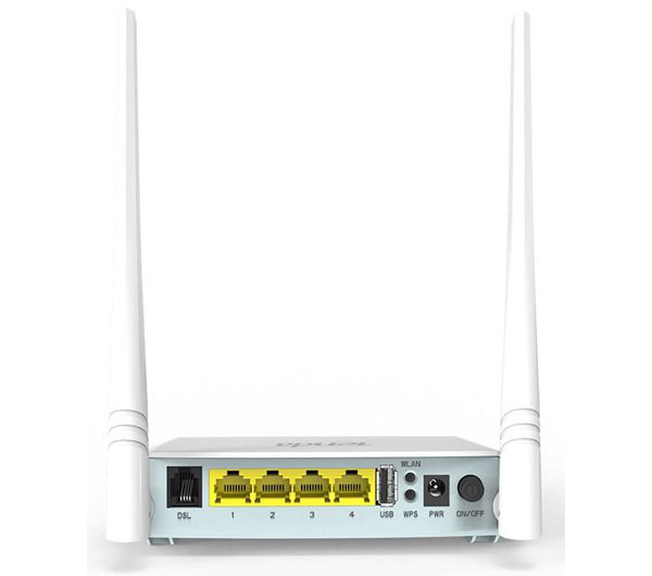 Tenda D301 V2 ADSL2 Plus Modem Router