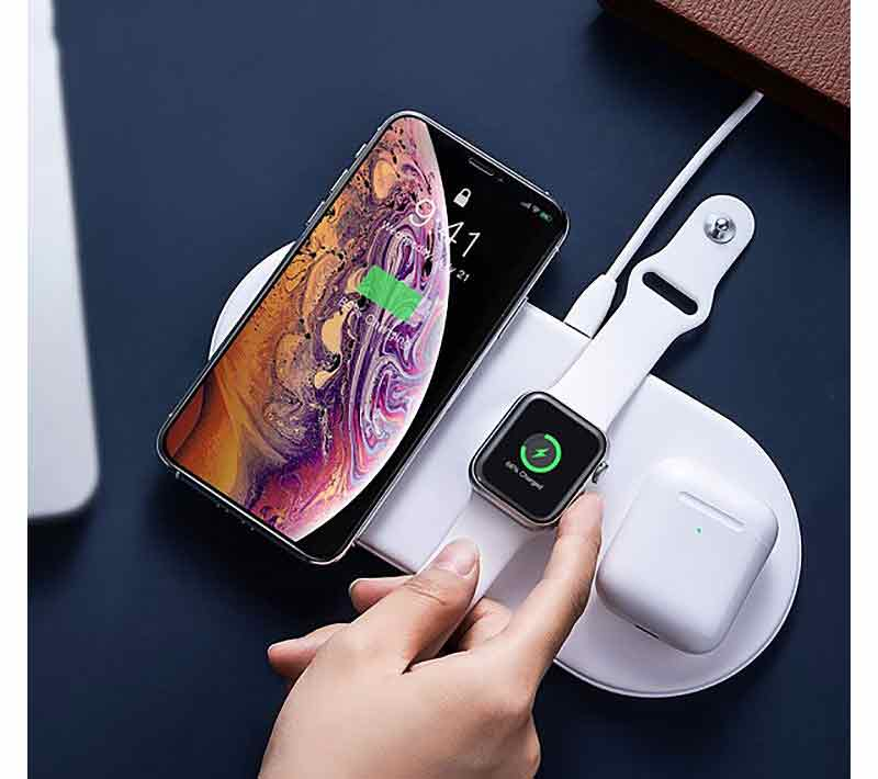Baseus WX3IN1 18W Wireless Charger