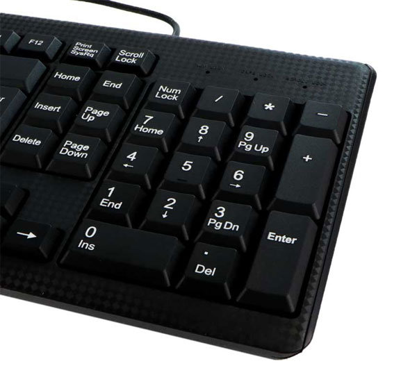 Verity V-KB6117 Keyboard With Persian Words